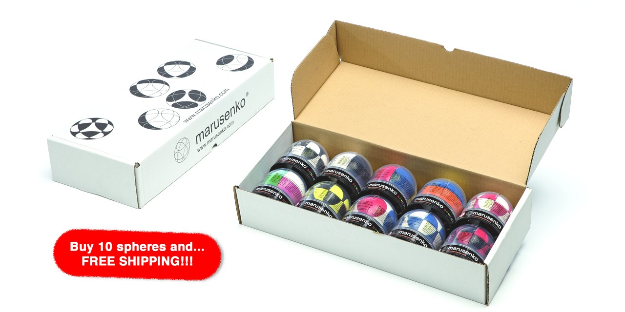 Buy 10 spheres FREE Shipping
